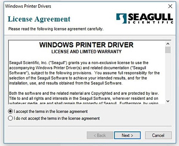 cài đặt máy in mã vạch Xprinter