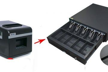 Kết nối két tiền với máy in
