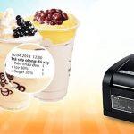 Tìm hiểu máy in tem trà sữa