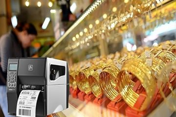Máy in tem vàng cho tiệm vàng trang sức